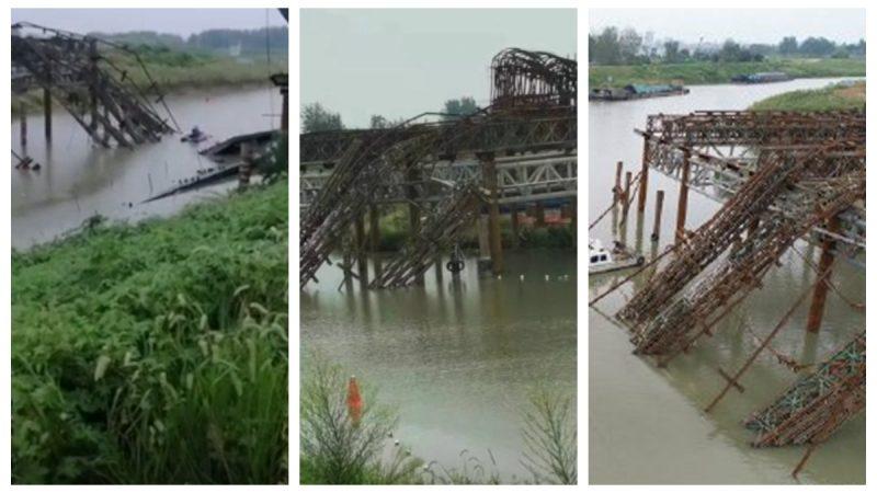 安徽豆腐渣再现 正施工大桥垮塌致19死伤