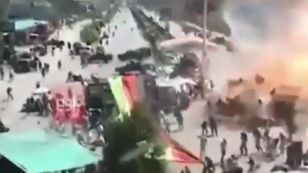 阿富汗总统选举造势惊爆 酿至少24死