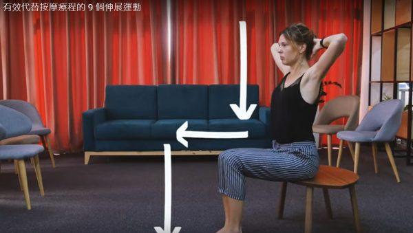 脖子、肩膀和背部痠痛?有效代替按摩的運動(視頻)