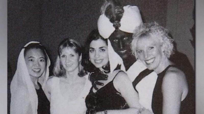 18年前涂脸旧照曝光被批种族歧视 特鲁多道歉