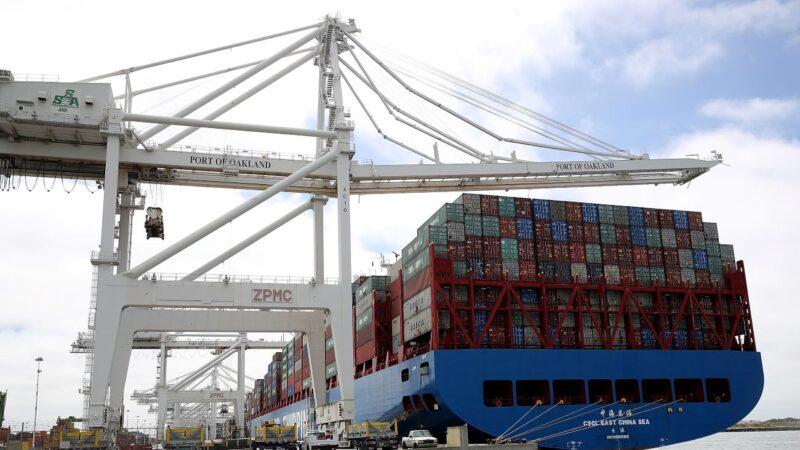 中国大陆借道香港出口量连三个月下降