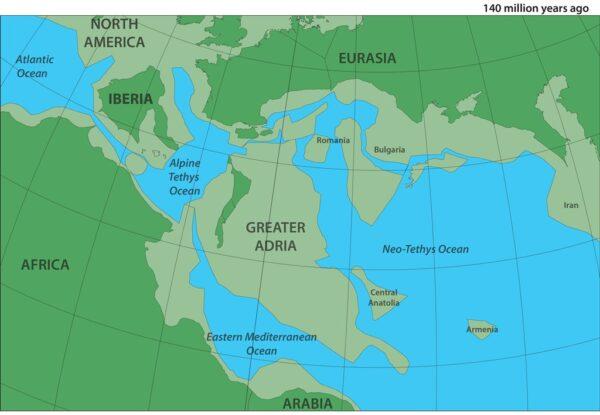 南歐底下發現失落大陸 科學家:和格陵蘭一般大