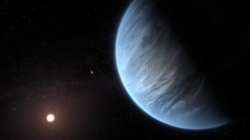 适合人类居住?科学家发现温度适中且有含水大气层行星