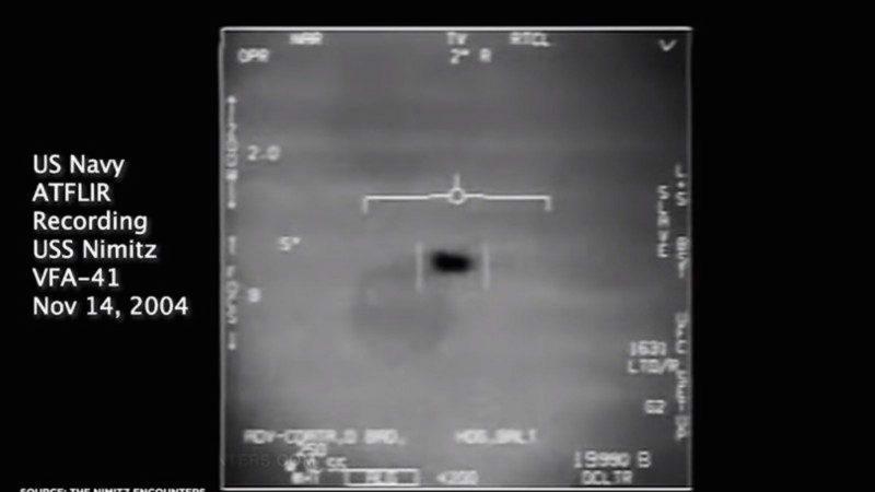 首认3段UFO视频是真的 海军发言人:影片不应传出(视频)