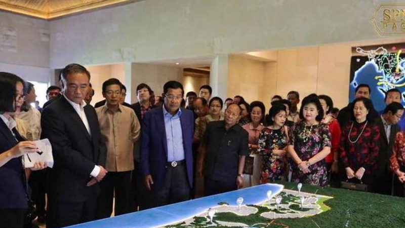 一带一路示范项目藏军事目的?柬国际机场停工