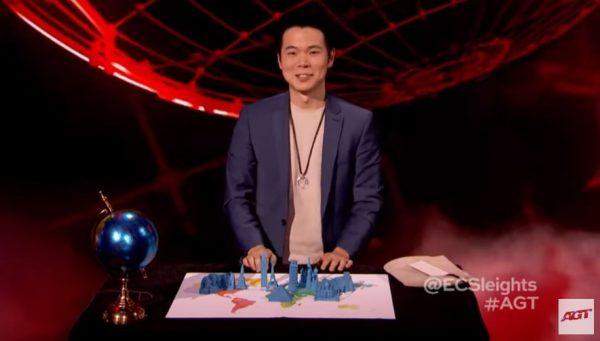 台魔術師在《美國達人秀》迎戰第四關