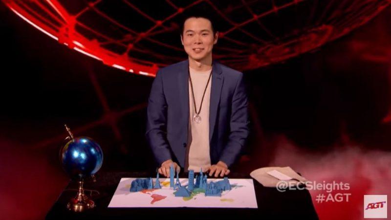 台魔术师在《美国达人秀》迎战第四关
