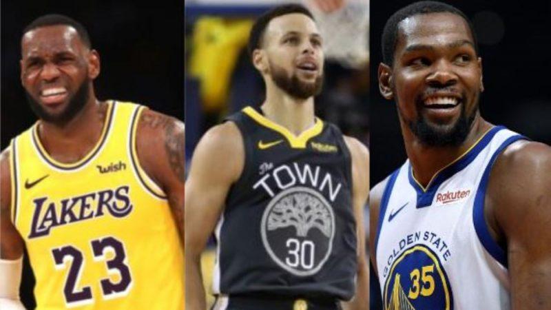 ESPN评选:2010年代NBA三位最杰出球星