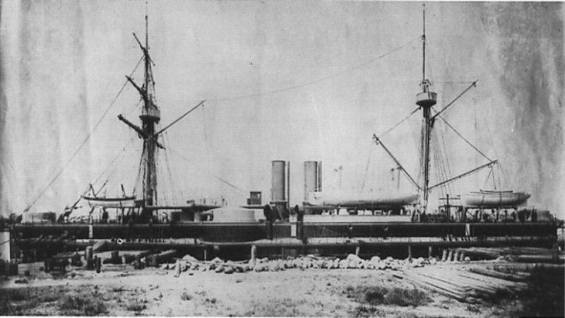"""清朝北洋水师旗舰""""定远号"""" 沉没百年后被发现"""