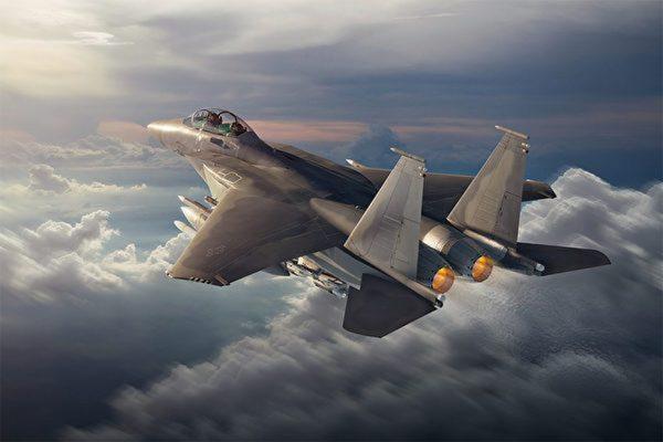 配有先进设备 波音公布F-15EX战机飞行画面