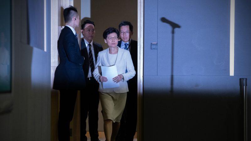 林郑宣布撤回逃犯条例 港人:五大诉求缺一不可