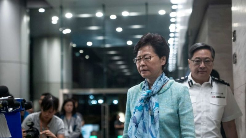 林郑回应录音门否认曾辞职 港议员斥撒谎
