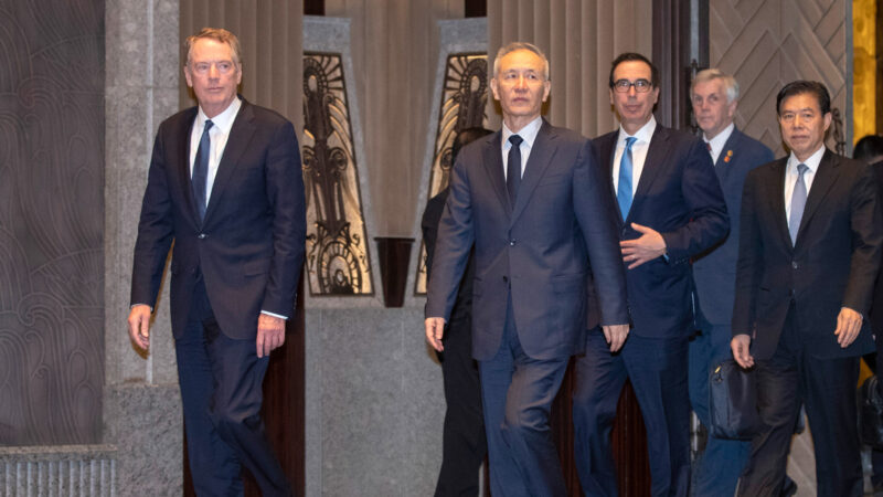 【天亮時分】中美貿易談崩 中方代表提前回國