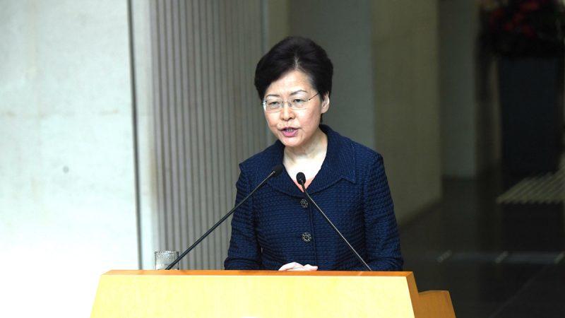 林鄭回應撤例內情:由港府提出、中央支持