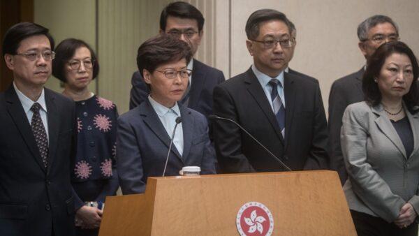 林郑施政报告如临大敌 港立法会荷枪警戒