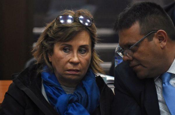 面临贪污指控 危地马拉前总统候选人遭逮捕