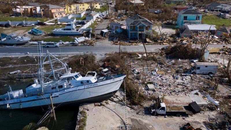 飓风重创巴哈马 酿43死传数千人失踪 朝加拿大前进