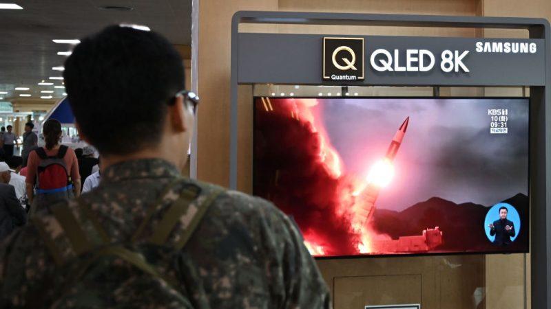 朝鲜今年第10次射弹 驻韩美军基地在射程内