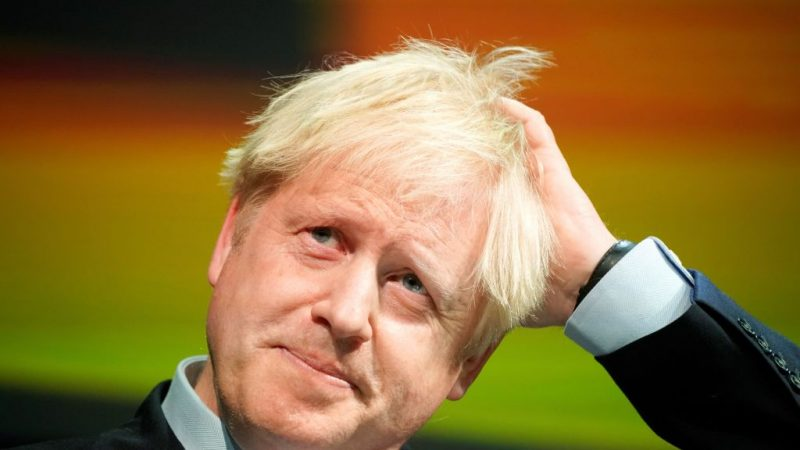 英國首相約翰遜確診感染中共病毒