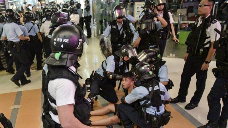 新屋岭酷刑曝光:示威者遭扒衣蒙头性侵