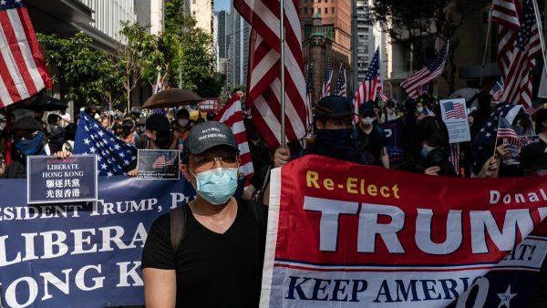 """""""香港解密""""曝光示威者信息 中共党媒吁转发"""