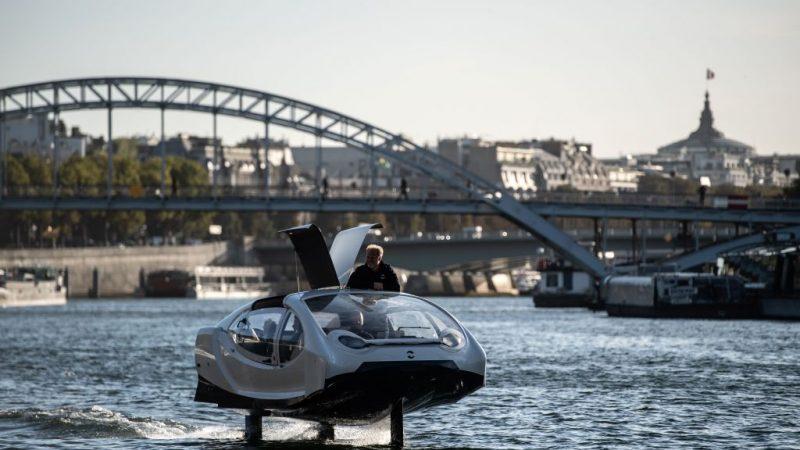 飛馳水面計程車 預計明年春天上路(視頻)