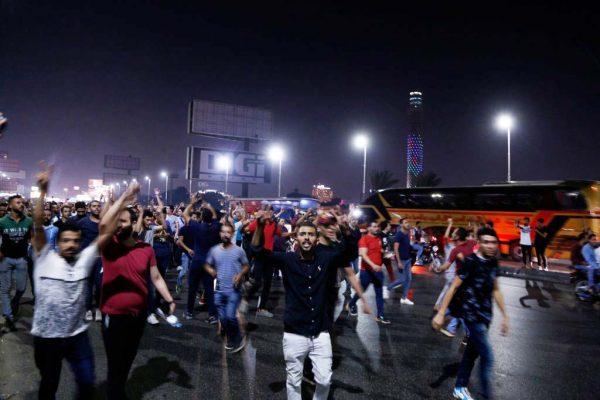 反贪腐之火 埃及罕见反塞西示威抗议
