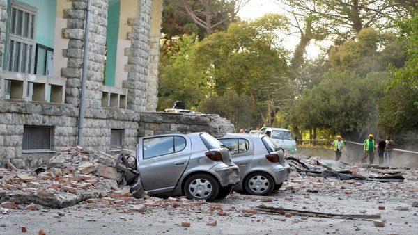 5.6地震袭阿尔巴尼亚 逾百栋建物损毁数十人伤