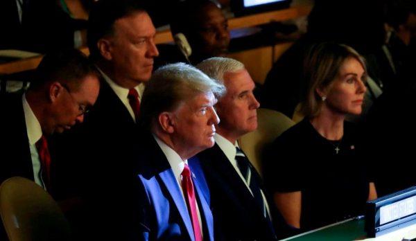 聯合國舉行氣候行動峰會 川普意外現身