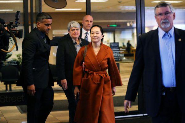 【快訊】孟晚舟溫哥華出庭  律師尋求閱被捕文件
