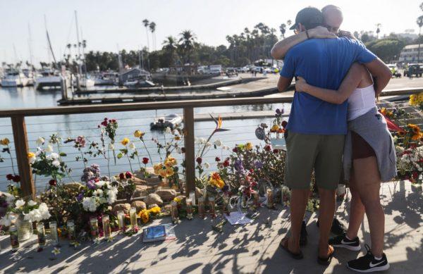 南加州外海火燒船34人罹難 乘客無一生還