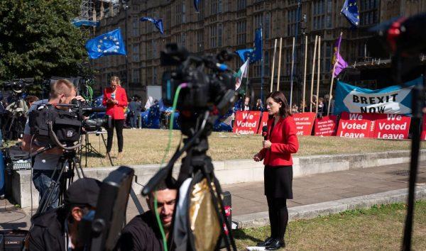 立法阻止无协议脱欧 英国会首轮投票通过