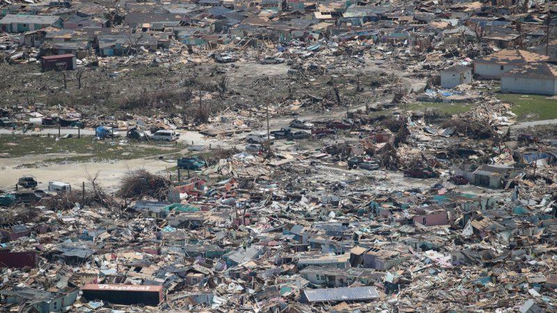 飓风多利安狂扫酿20死 巴哈马灾情惨重7万人待援