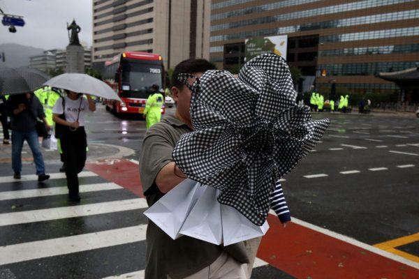 颱風玲玲橫掃韓國 3死逾20傷損失還在擴大