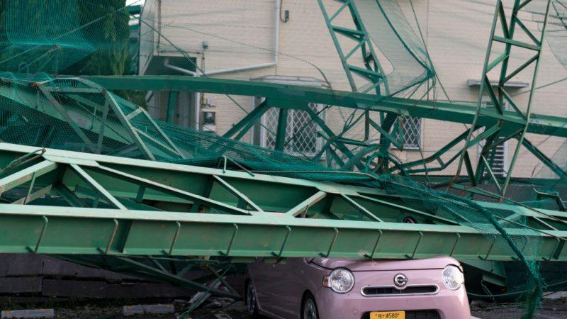 颱風重創日本千葉 停電4天釀2死61傷 部份慘況如311