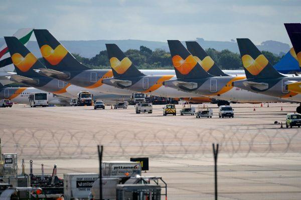 托马斯库克集团破产 逾50万名旅客滞留海外