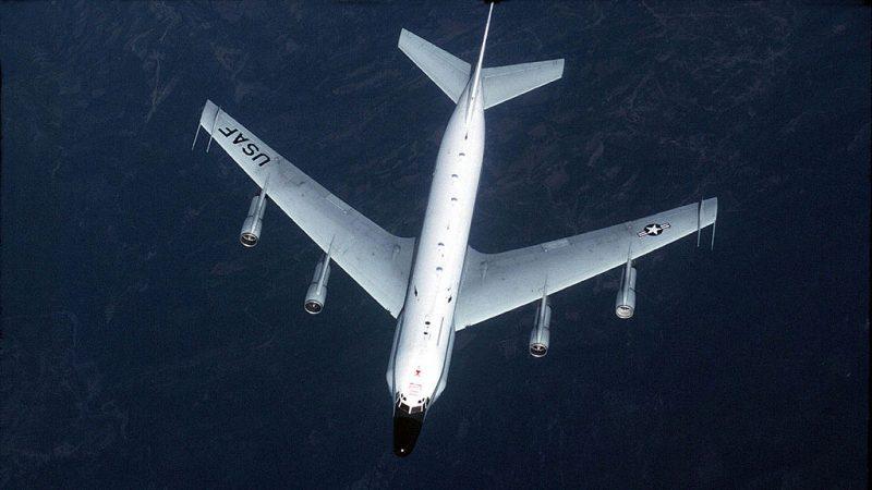 美侦察机横飞朝鲜半岛 监视朝鲜导弹信号