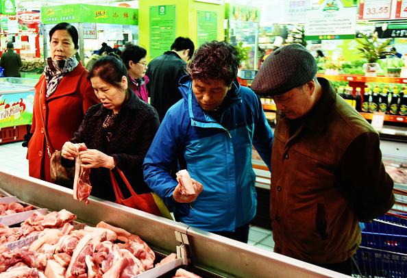 豬肉價格飆漲 上海部份餐廳停售豬肉菜品