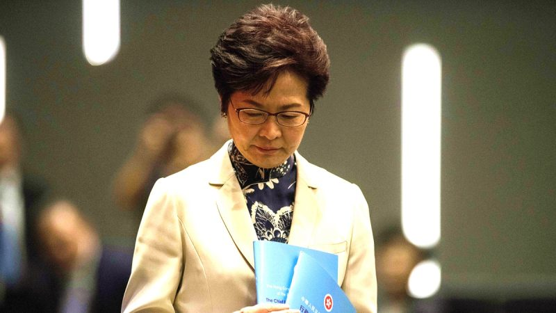【萧茗看世界】香港失控时中共会武力攻台吗?林郑月娥想辞职说明谁是真正的老板?