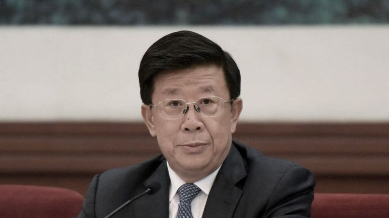 爭奪香港話事權?傳趙克志任港澳小組副組長