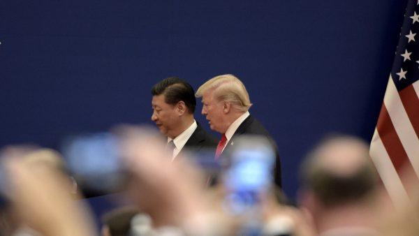 川普:中共是全球威胁 最近同习近平有争吵