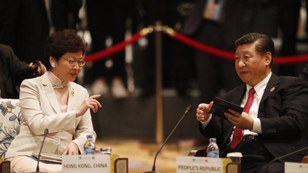 法媒:林鄭被逼急後嗆北京 習近平始料未及
