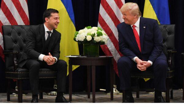 川普公布与乌总统通话记录 司法部:没不当无可指控