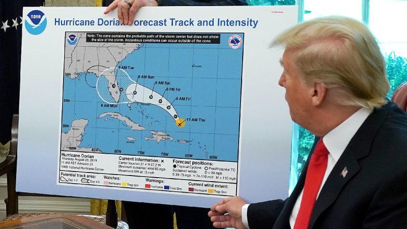 美媒将飓风政治化狂攻川普 CNN错标地图成笑柄