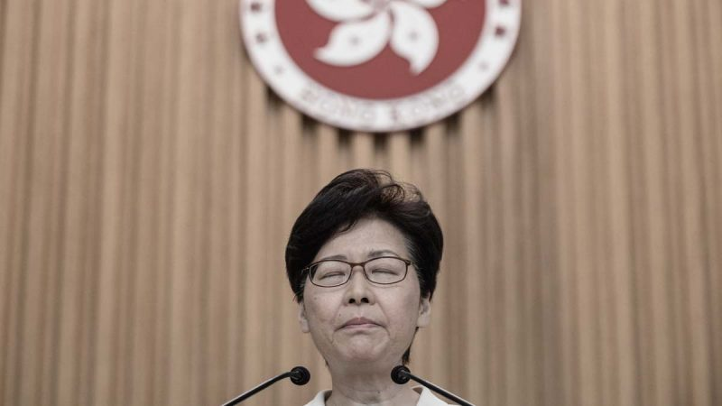 """林郑突然""""泄密""""中共对策 北京立场有变?"""