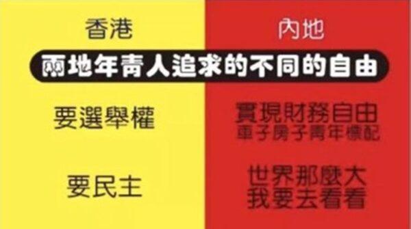 """五毛制图献媚中共 疑""""跪姿不正""""被删除"""