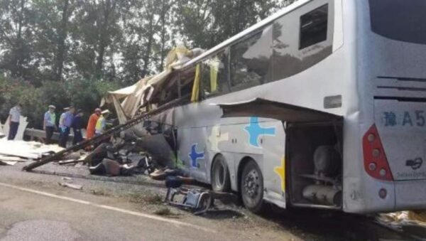 中共十一前重大噩耗:江苏车祸酿36死36伤