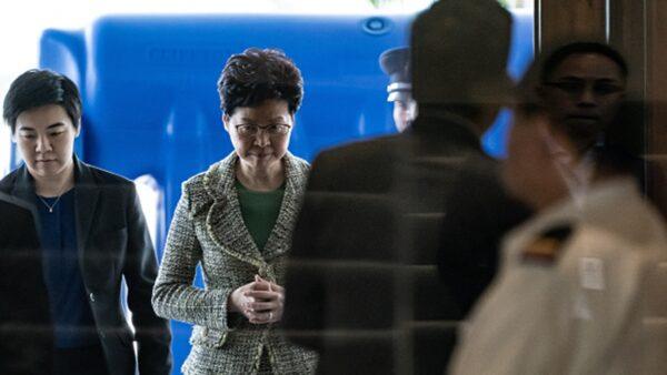 港府镇压酿恶果 林郑承认选举将大败