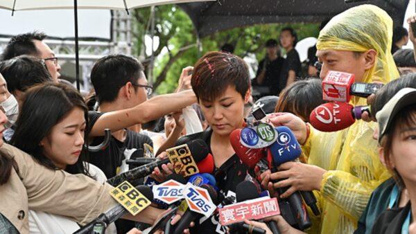 香港歌手何韵诗遭泼漆 警方逮9名共犯