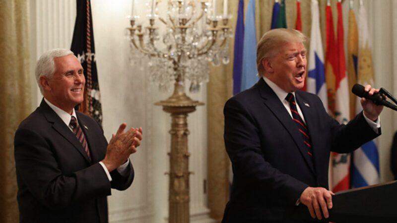 川普:我们相信神 不允许共产主义恐怖在美国重现